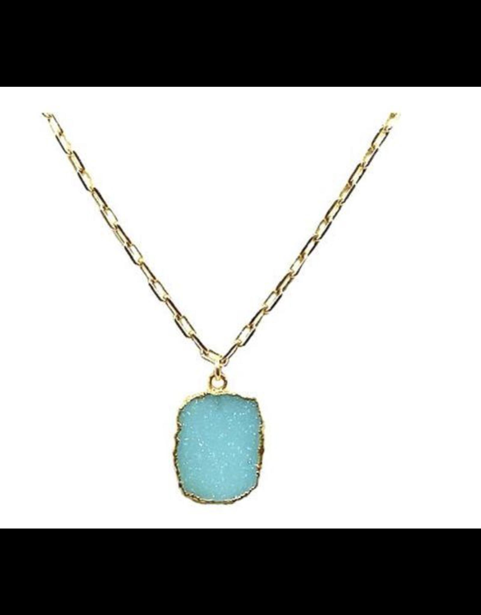 Link Gemstone Necklace