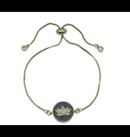 Lotus Mosaic Bracelet