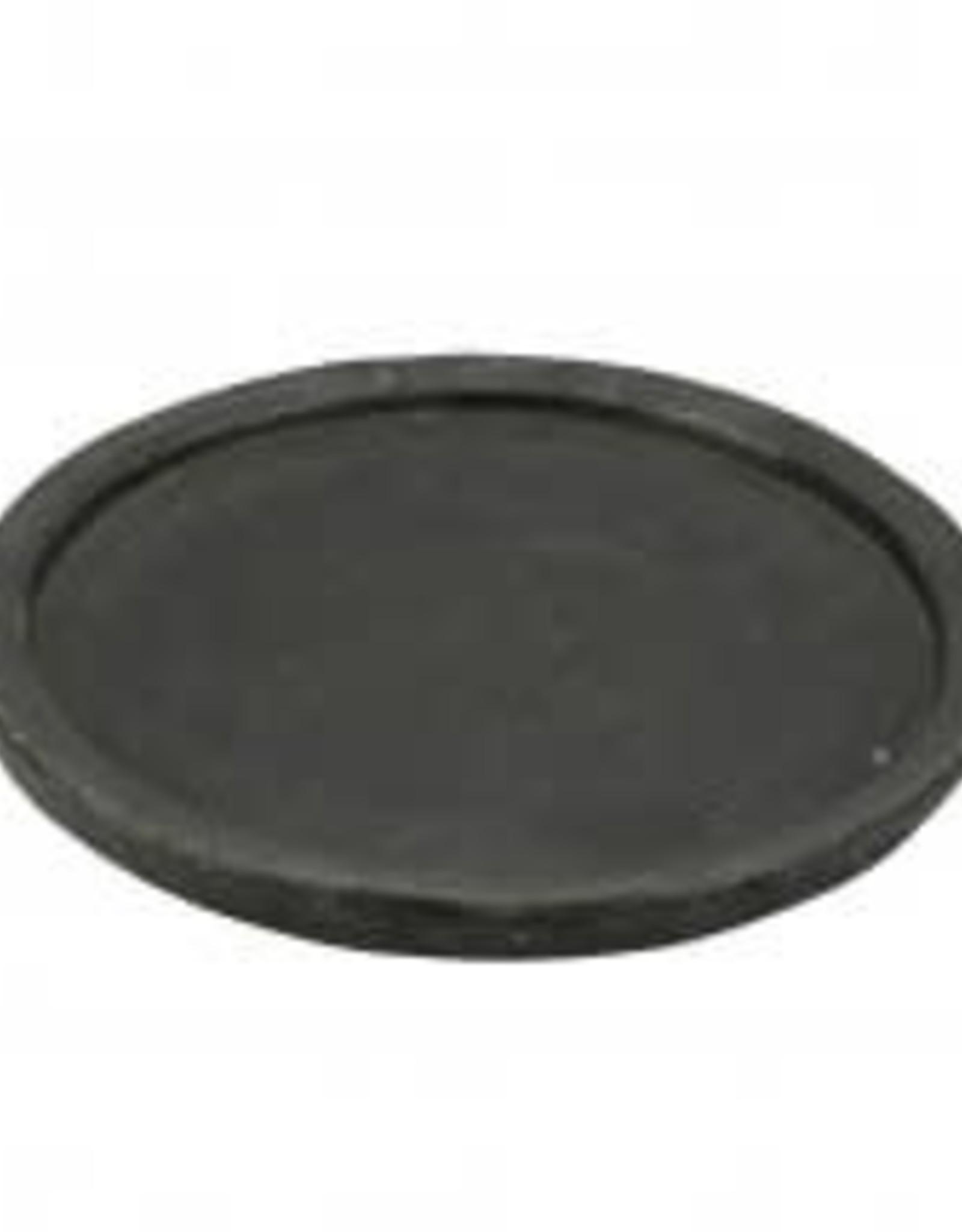 Black Stone Saucer