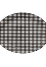 Gingham Platter