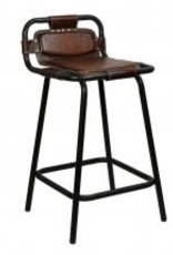 leather nova stool