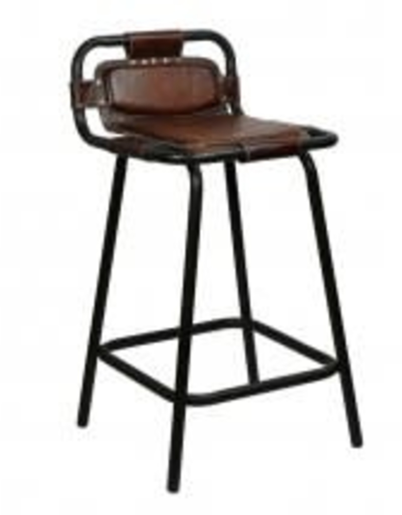 leather nova stool