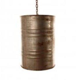 vintage drum pendent