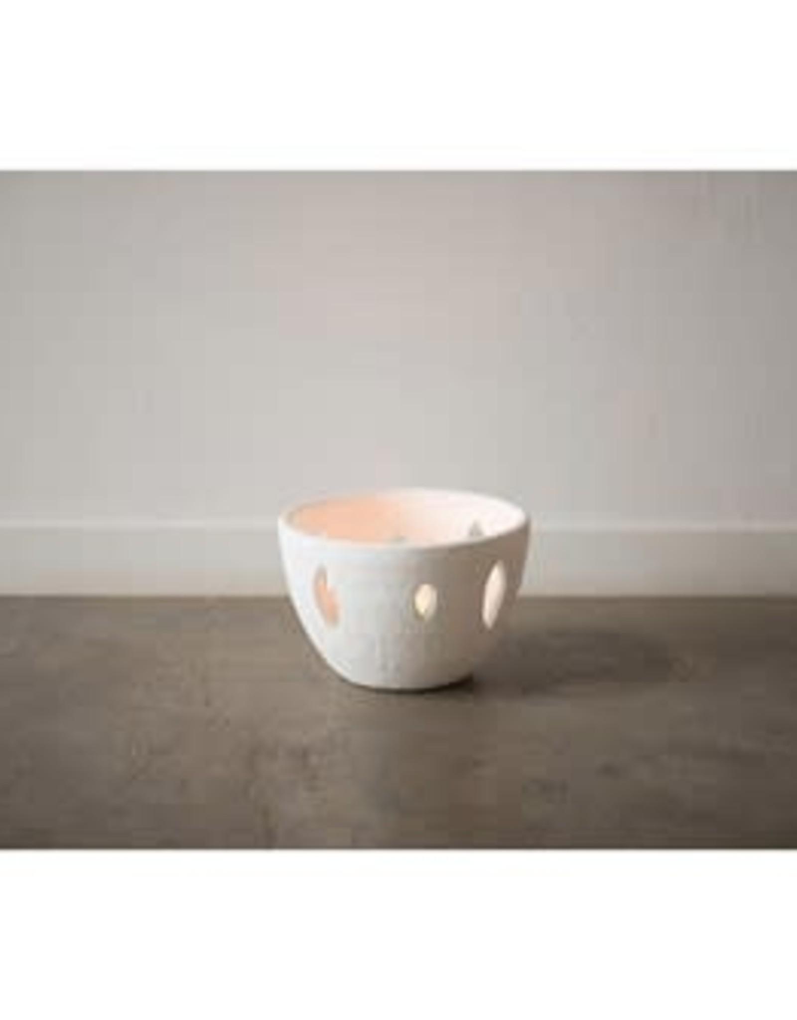 volcano white bowl