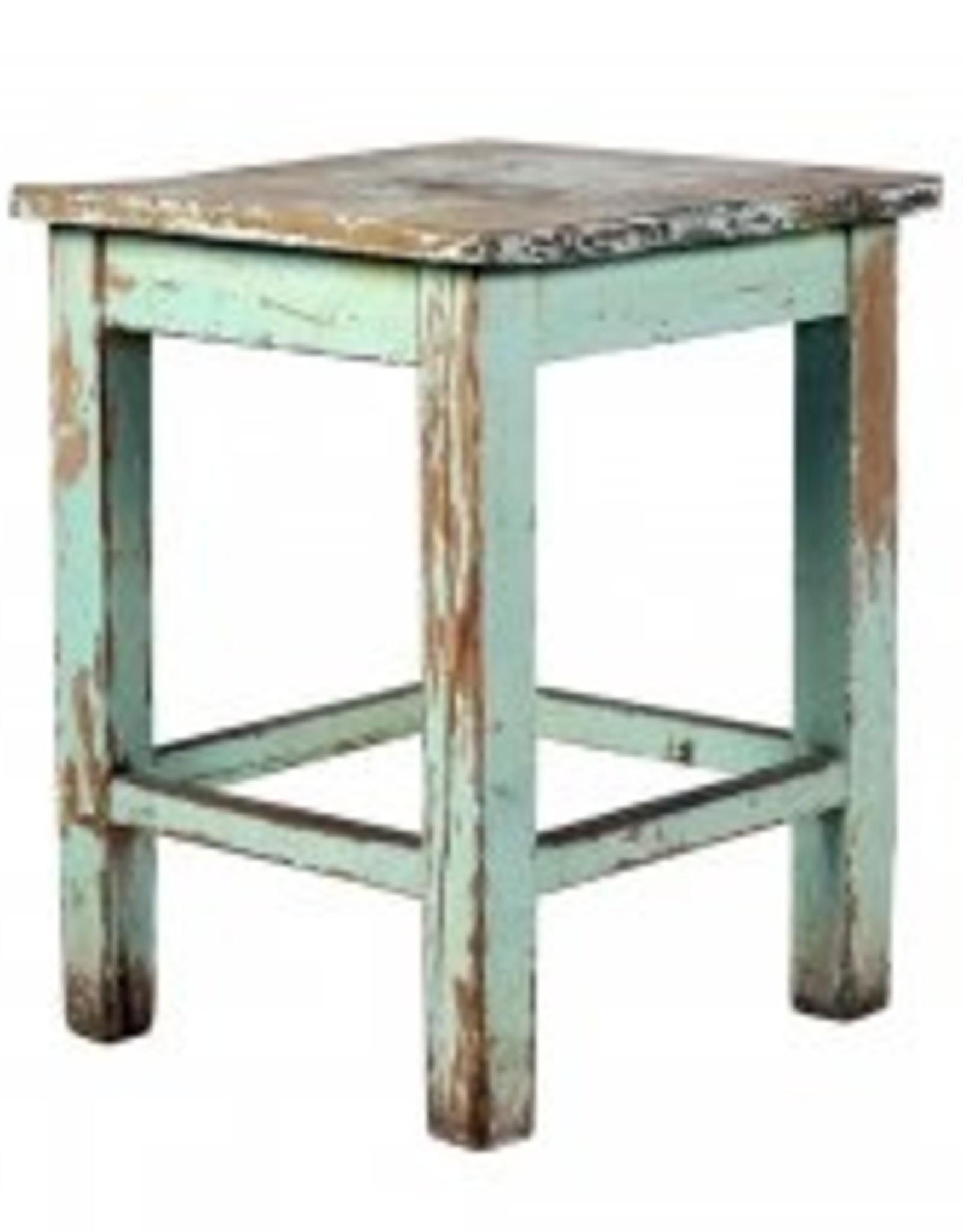 euro painted stool