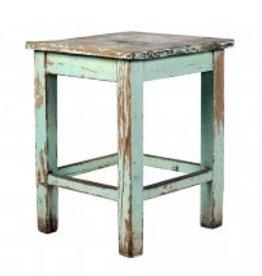 euro painted stool