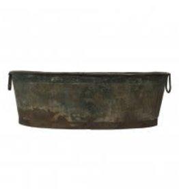 vintage zinc basin