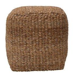sea grass pouf