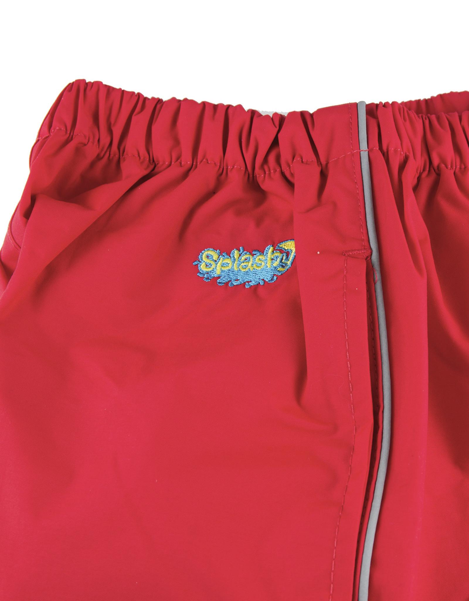 Splashy Boys/6x-7/Red/Splashpant