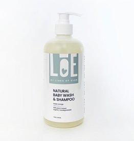 Lines of Elan Natural Baby Wash & Shampoo
