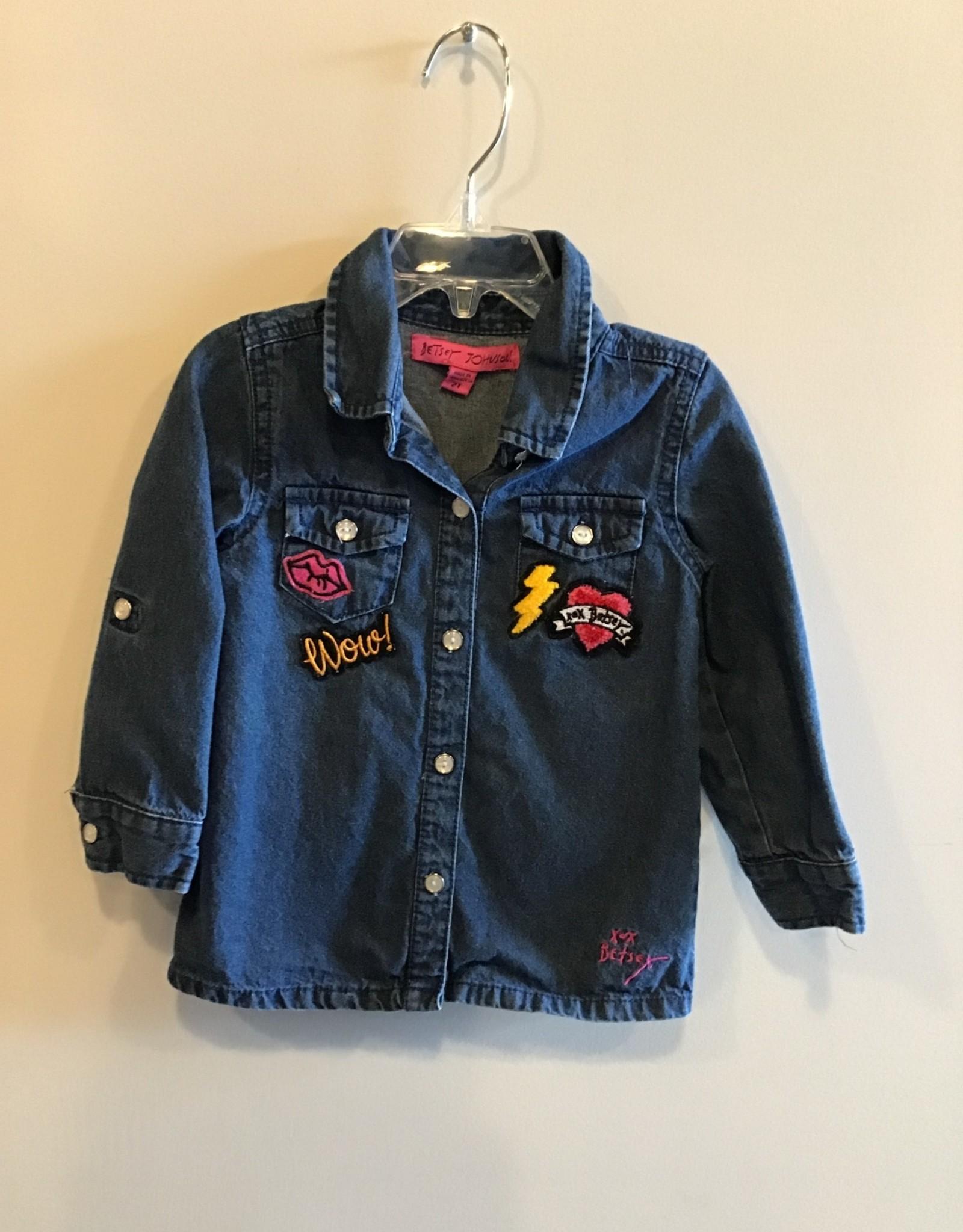 Off Brand Girls/2T/Off/Shirt