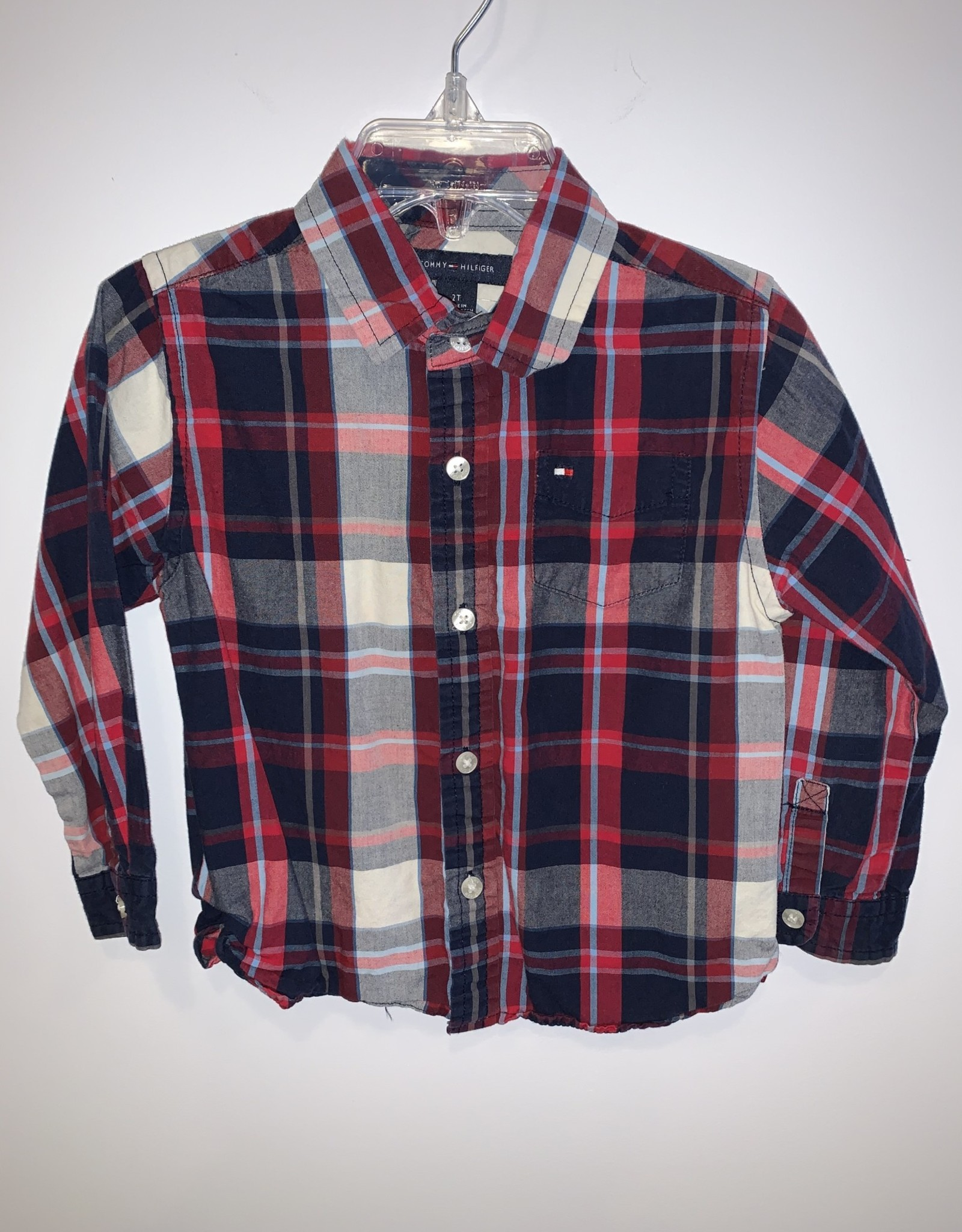 Tommy Hilfiger Boys/2T/Tommy/Shirt