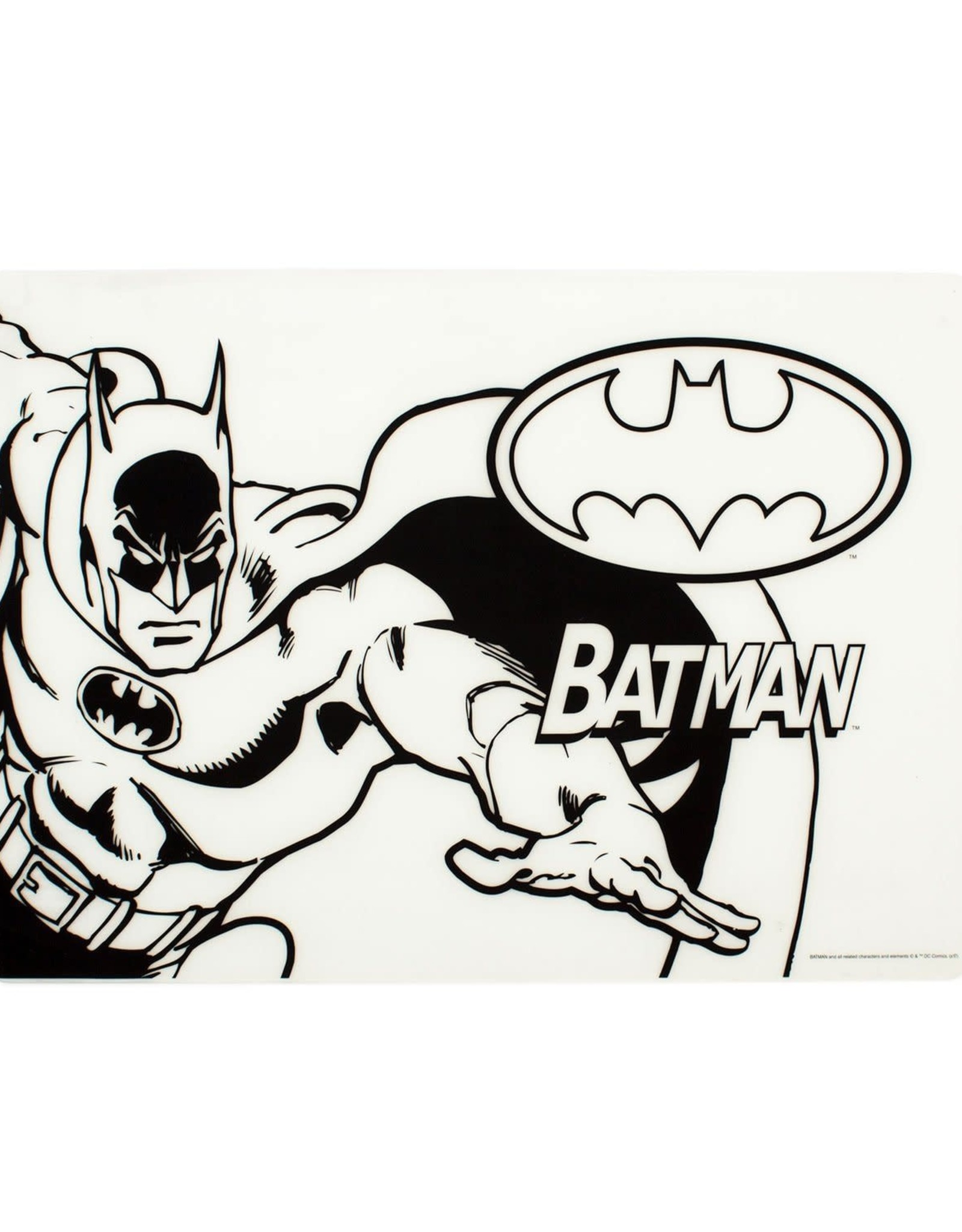 Bumkins Bumkins Silicone Colouring Placemat - Batman