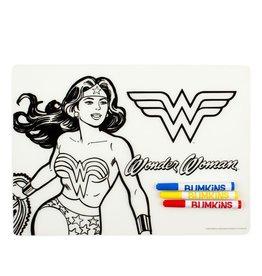 Bumkins Bumkins Silicone Colouring Placemat - Wonder Woman