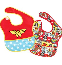 Bumkins Bumkins Super Bib 2pk - Wonder Woman