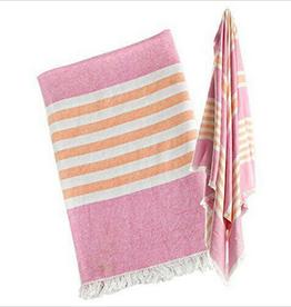 Lulujo LuluJo Turkish Towel Pink