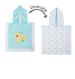 Flap Jacks Reversible Baby Cover-up - Fish 0-12