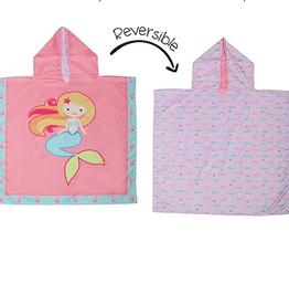 Flap Jacks Reversible Kids Cover-up - Mermaid