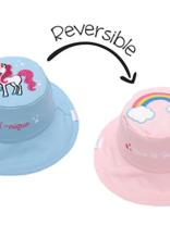 Flap Jacks Flapjacks Kids Sun Hat - Rainbow/Unicorn