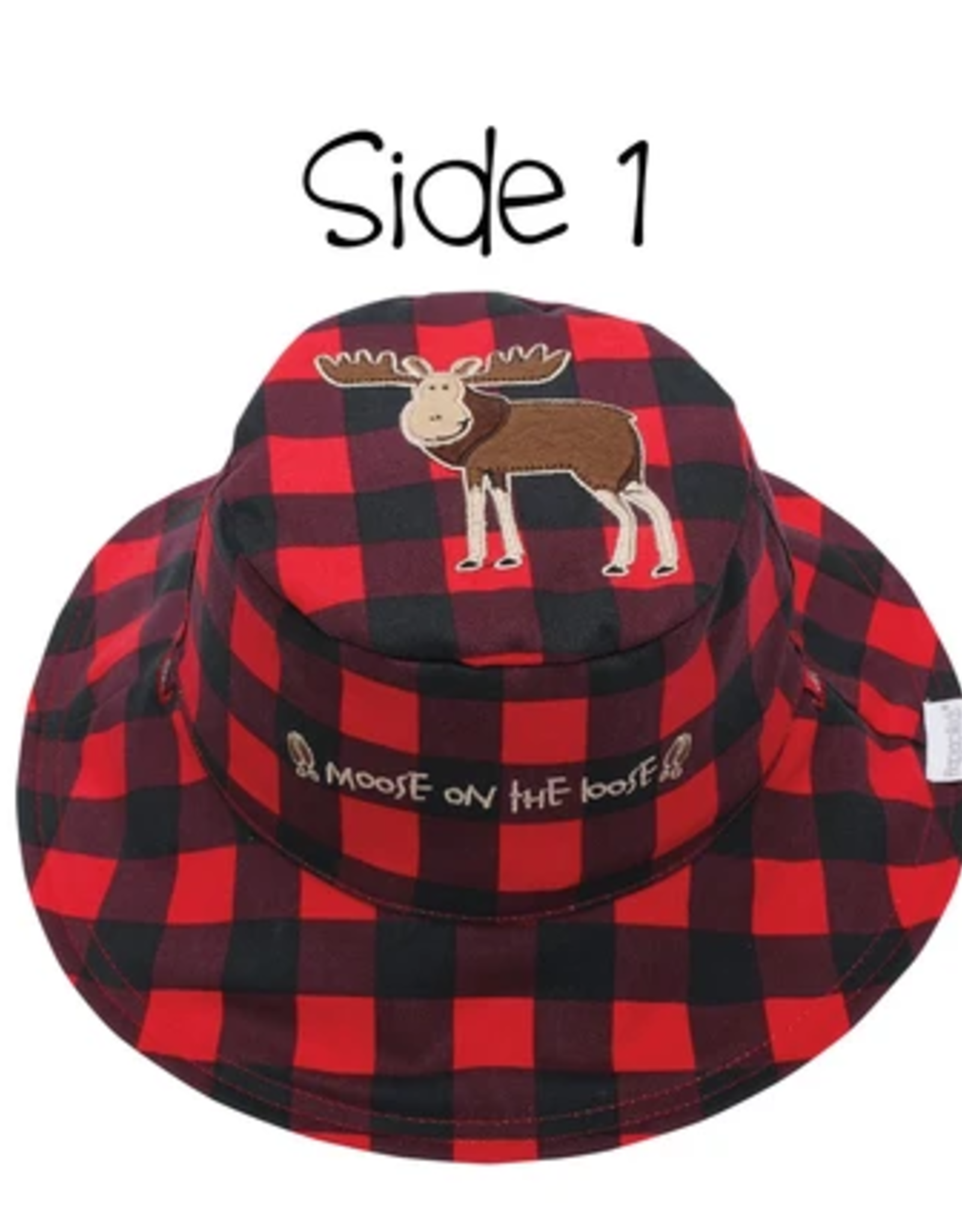 Flap Jacks Flapjacks Kids Sun Hat - Moose/Blackbear