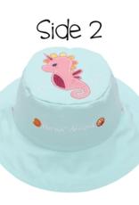 Flap Jacks Flapjacks Kids Sun Hat - Mermaid/Seahorse
