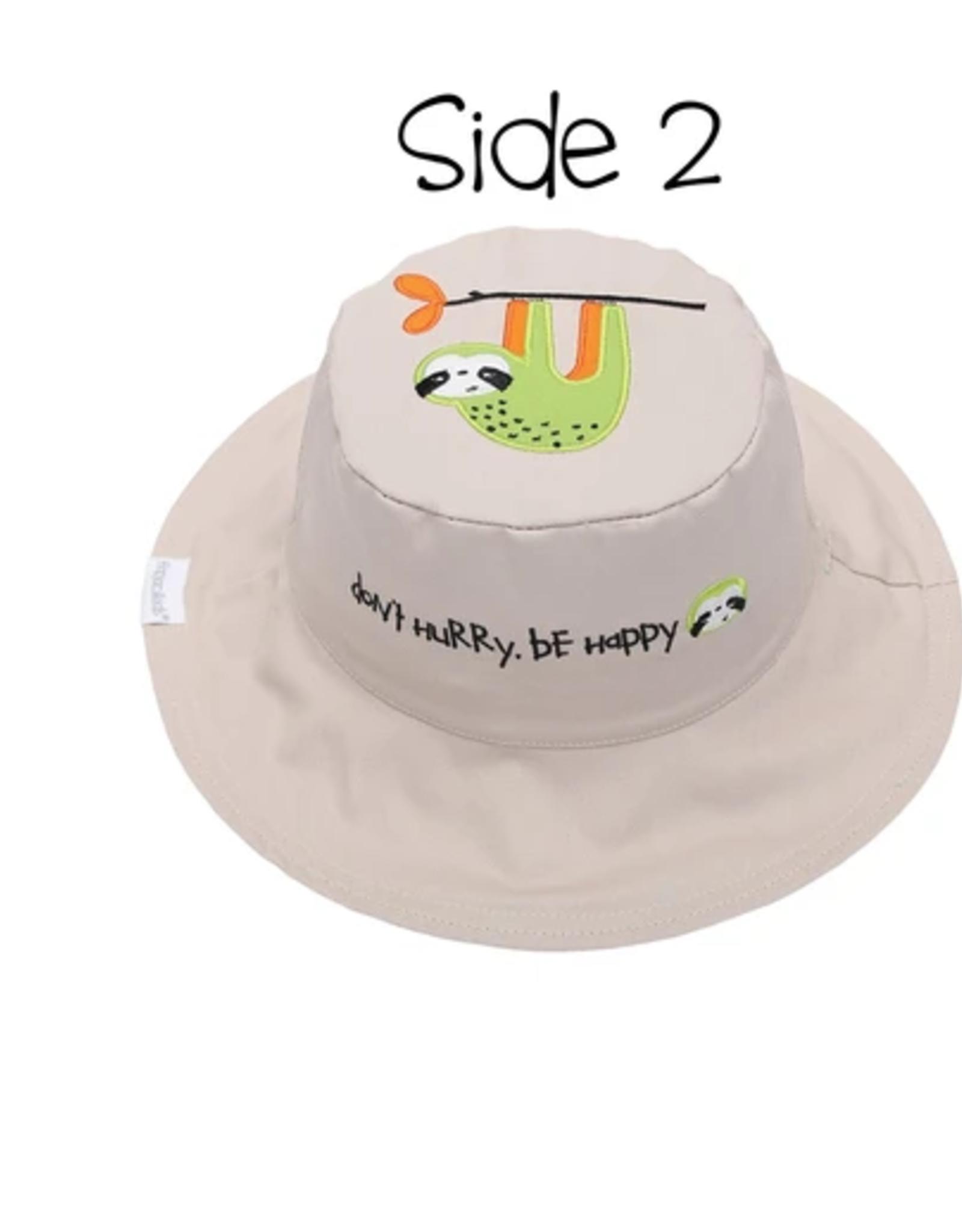 Flap Jacks Flapjacks Kids Sun Hat - Lion/Sloth