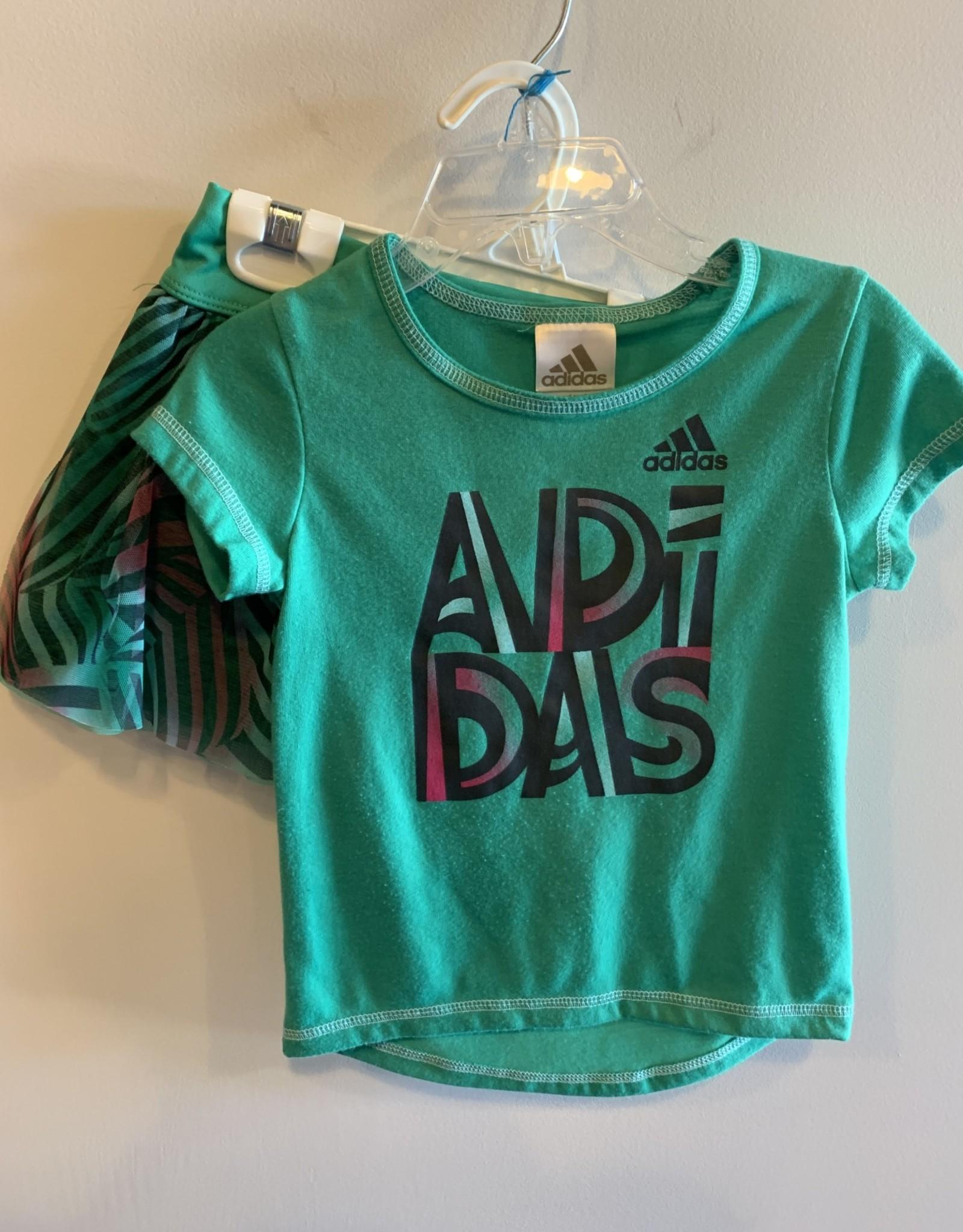 Adidas Girls/2T/Adidas/2pc