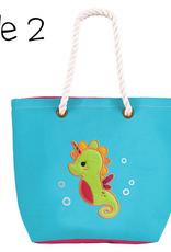 Flap Jacks Flapjacks - Tote - Mermaid/Seahorse