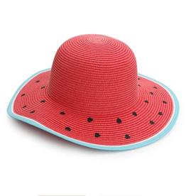 Flap Jacks FlapJackKids - Kids Straw Hat - Watermelon - Medium