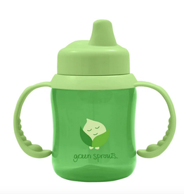 Greensprouts Non spill sippy cup - Green