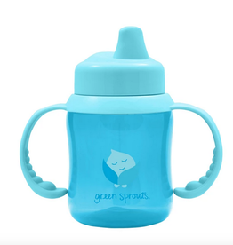 Greensprouts Non spill sippy cup - Blue