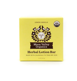 Moon Valley Moon Melt Lotion Bar - Lemon Vanilla