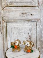 Floppy Ear Rabbit with Carrot