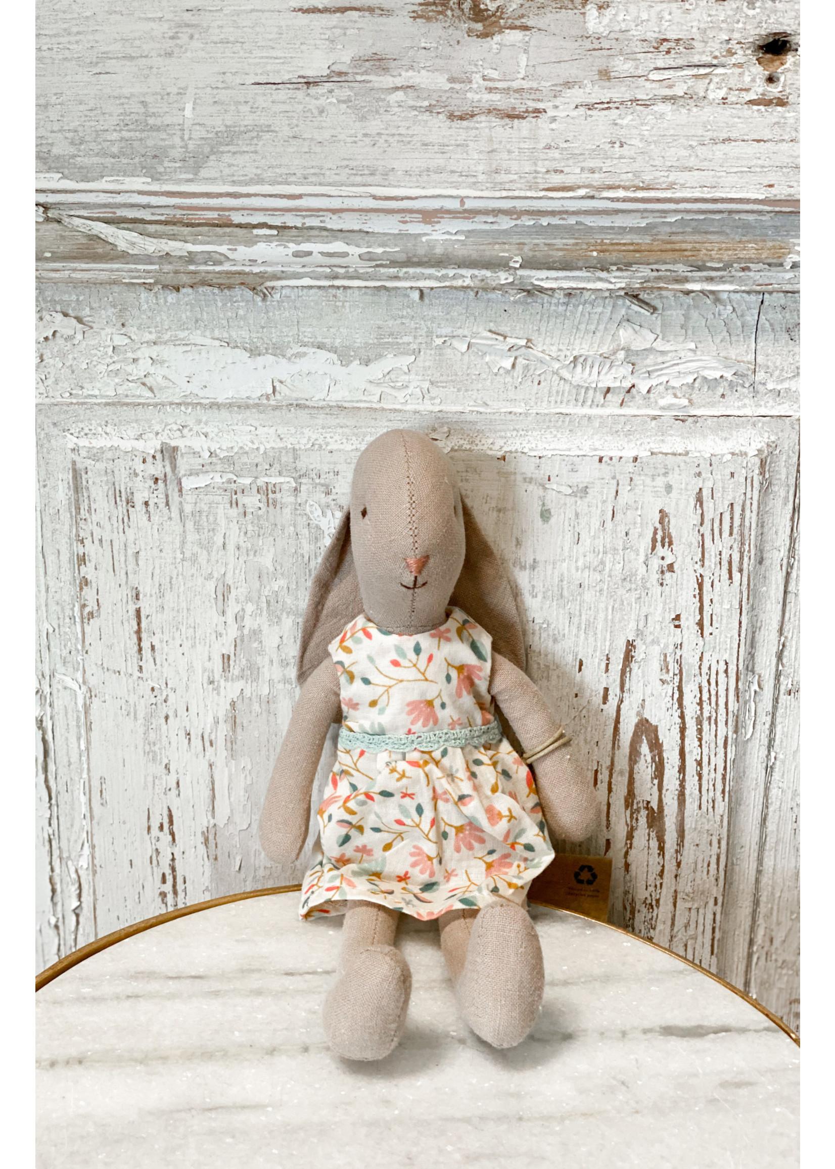 Maileg Bunny Size 1 - Flower Dress