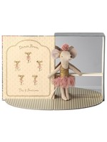 Maileg Big Sister Mouse - Dance Room with Dancer