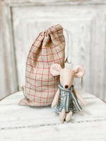 Maileg Big Sister Mouse - Winter Mouse in Bag