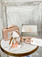 Maileg Big Sister Mouse - Guardian Angel in Suitcase