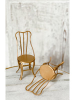 Maileg Vintage Chair - Gold (Pack of 2)