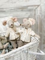 Maileg Mum & Dad Mouse - Chef