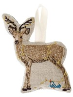 Coral and Tusk Ornament - Deer with Lights