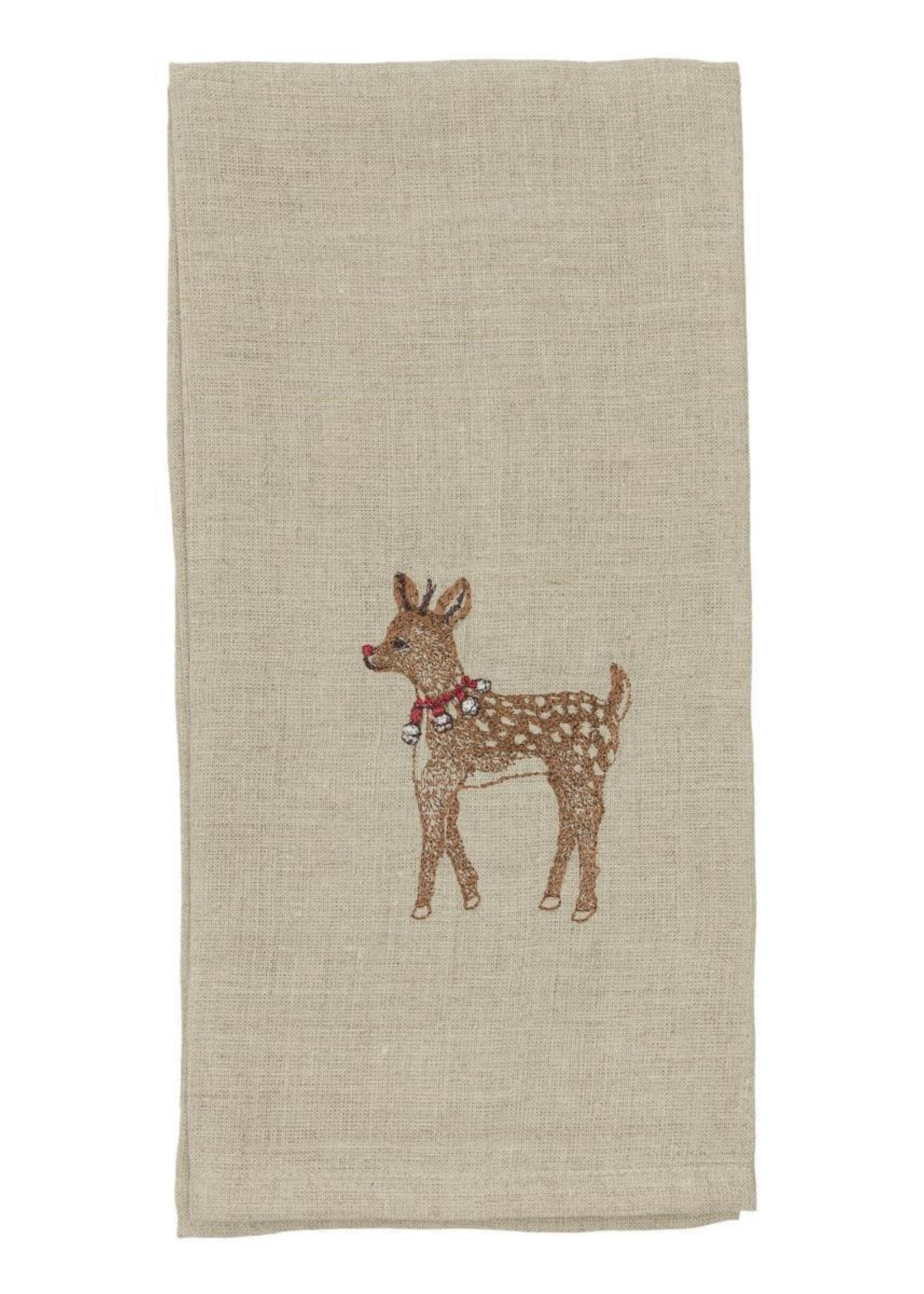 Coral and Tusk Tea Towel - Rudolph