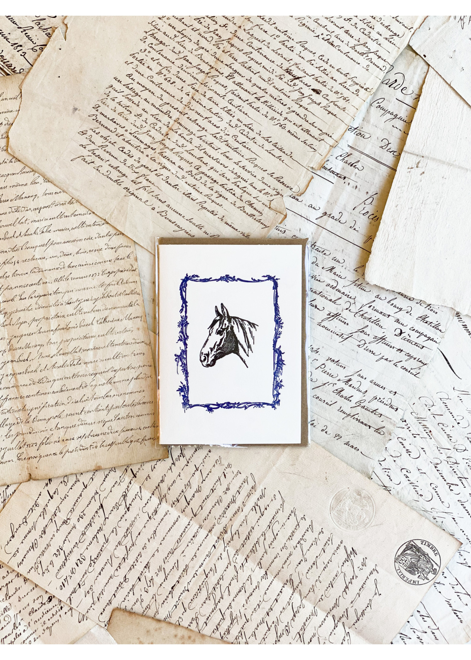 Little Card - Horse