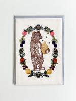 Coral and Tusk Card - Honey Bear