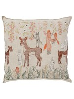 Coral and Tusk Pillow - Spring Blossoms