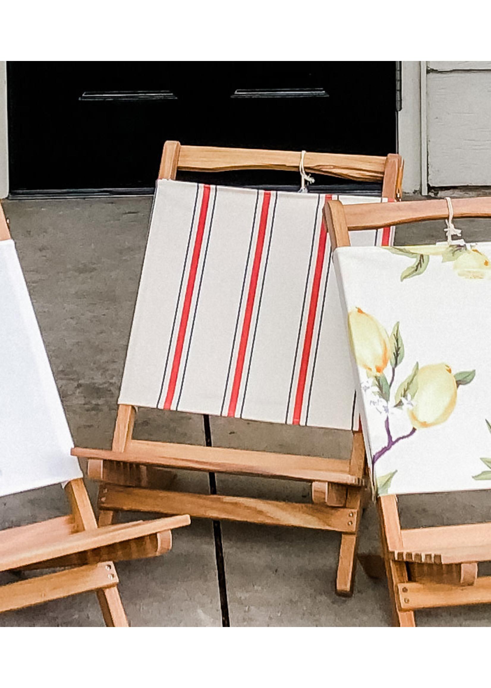 2-Piece Chair - French Stripe