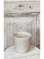 Stoneware Planter White - Small