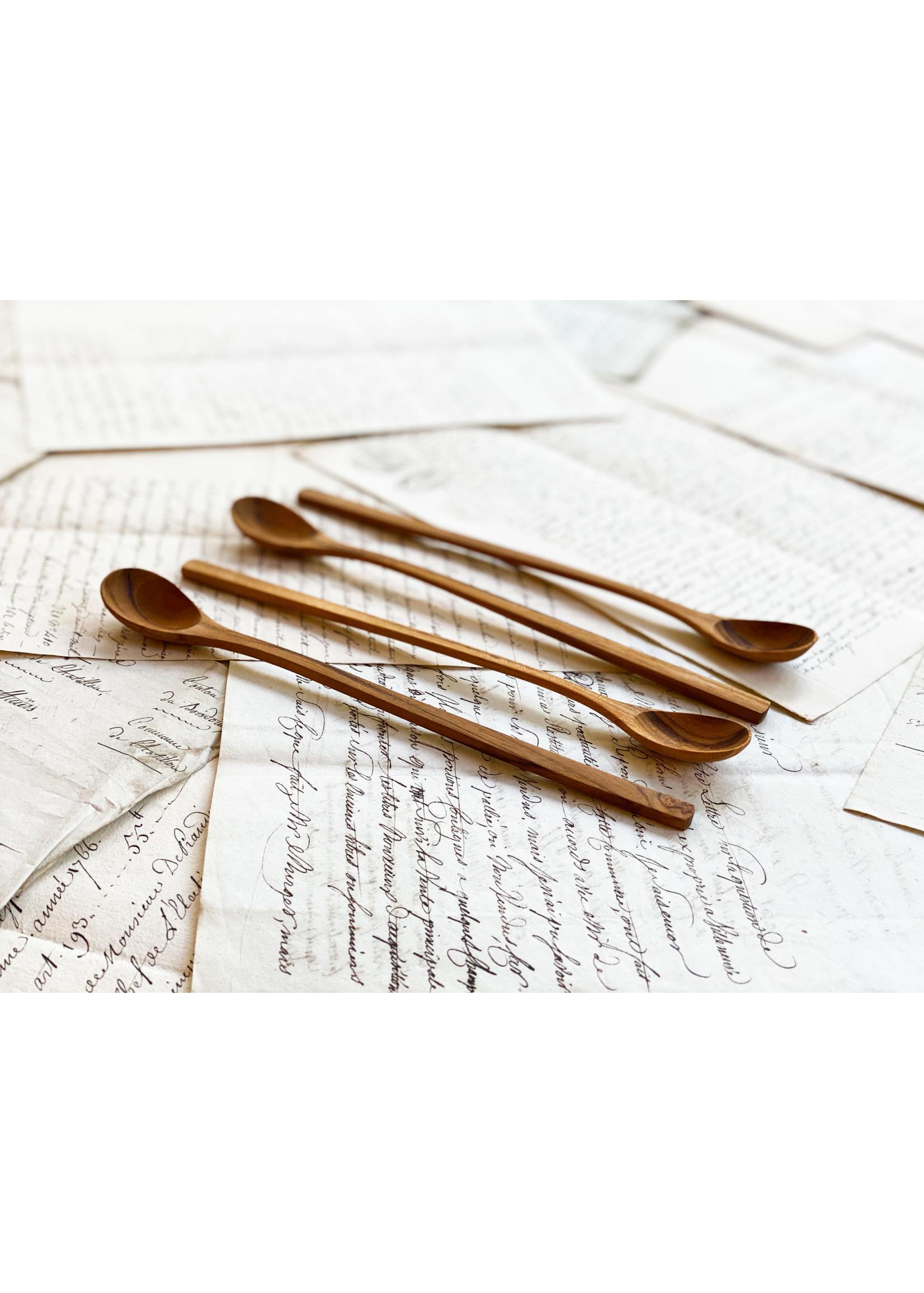 Teak Long Spoon (set of 4)