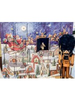 Santa Sleigh Advent