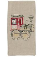 Coral and Tusk Towel - Christmas Train