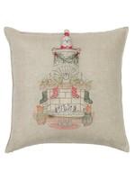 Coral and Tusk Pillow - Chimney Santa Pocket Pillow